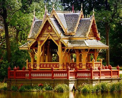 Pavilion, Thai Pavilion, Architecture, Thai Sala