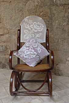 Rocking Chair, Vintage, Memories, Furniture, Old