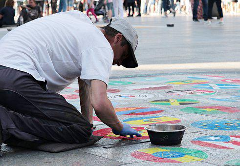 Street Painting, Artists, Painting, Art, National Flags