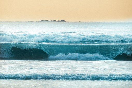 Sea, Nature, Blue, Beach, Sky, Landscape, Sunset, Relax