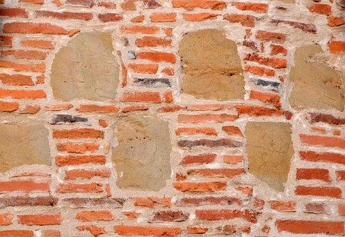 Wall, Bricks And Stones, Masonry, Structure