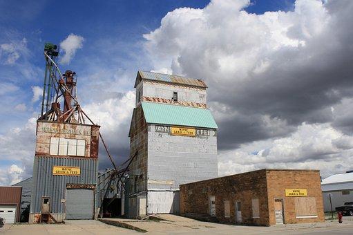 Wayne, Nebraska, Rural, Building, Rustic, Plant