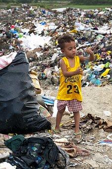 Garbage, Plastic, Philippines, Cebu, Poverty, Child