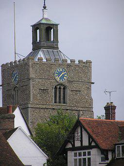 Village, English Village, Finchingfield, Essex, Rural