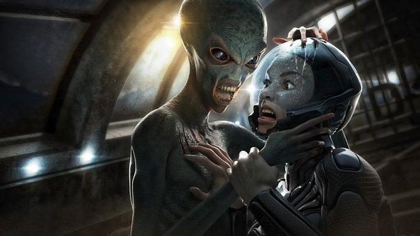 Alien, 3d, Cg, Cgi, Render, Girl, Female, Fantasy