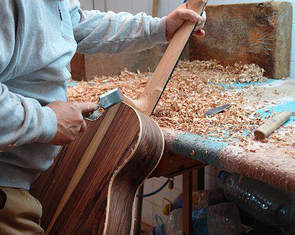 Guitar, Luthier, Wood, Classic, Instrument, Artisan