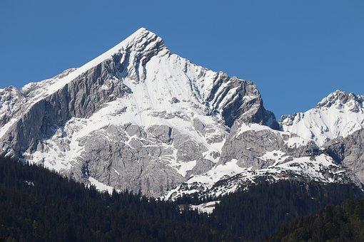Alpspitze, Alpine, Garmisch Partenkirchen, Landscape