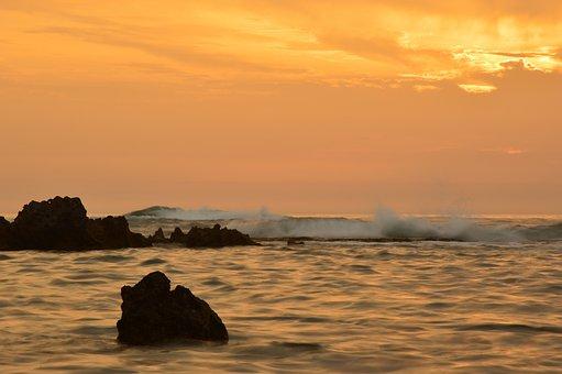 Sea, Wave, Sound Of The Sea, Mediterranean, Rock, Surf