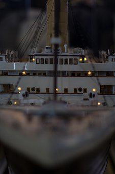 Ship, Model, Miniature, Hobby, Small, Childhood, Wood