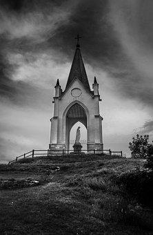 Vesoul, France, Sod, Pilgrimage, Virgin, Sanctuary