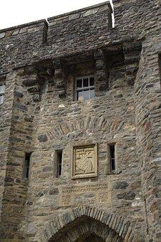 Eilean Donan Castle, Castle, Wall, Stone Wall, Scotland