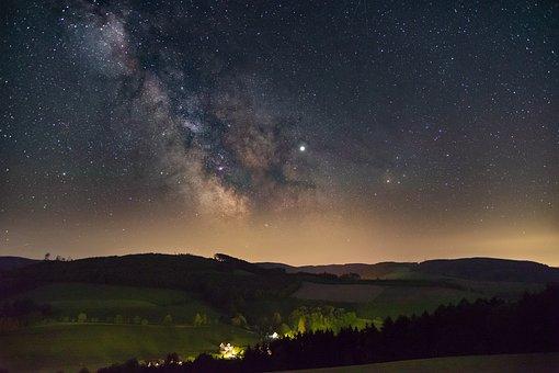 Star, Milky Way, Starry Sky, Night, Cosmos, Sky, Galaxy