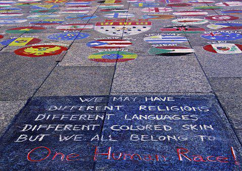 Street Painting, Embassy, Equality, Thoughts, Reality
