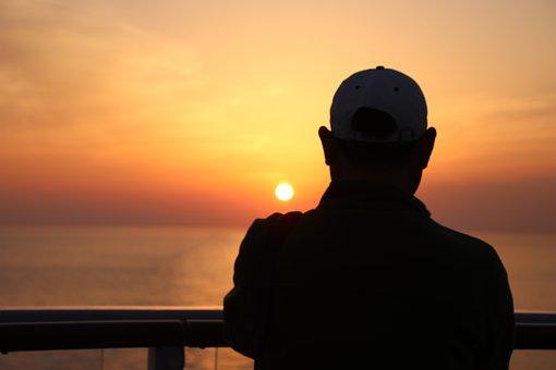 Sunrise, Marine, Figure, The Rays