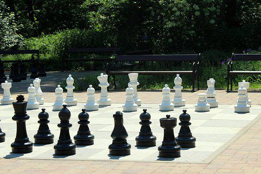 Chess, Pawns, Play, The Strategy, Checkerboard, Game