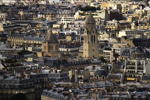 Eiffel Tower, River, Paris, Tourism, Architecture
