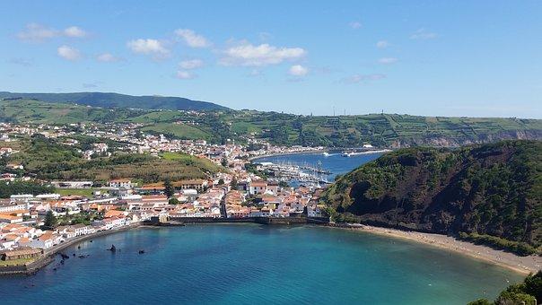 Azores, Horta, Sea, Beach, Faial, Bay