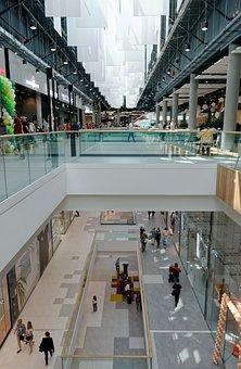 Center, Commercial, Building, Interior, Design
