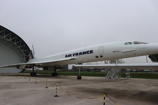 Concorde, Supersonic, Passenger Plane, Aircraft