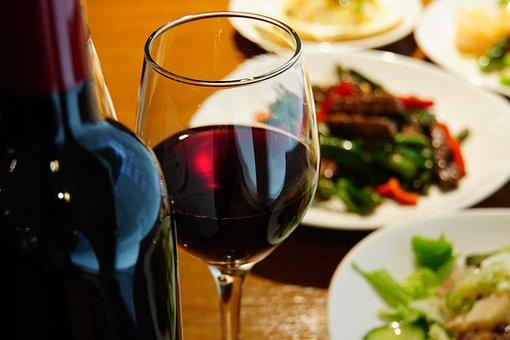Wine, Foppery, Dress Up, Cuisine, Dinner, Glass, Bottle