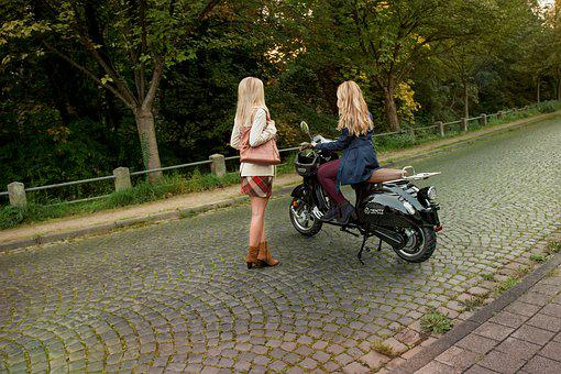 Electric Scooter, E-scooter, Electric Drive