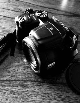 Photographe, Lens, Digital, Technology, Equipment, Shot