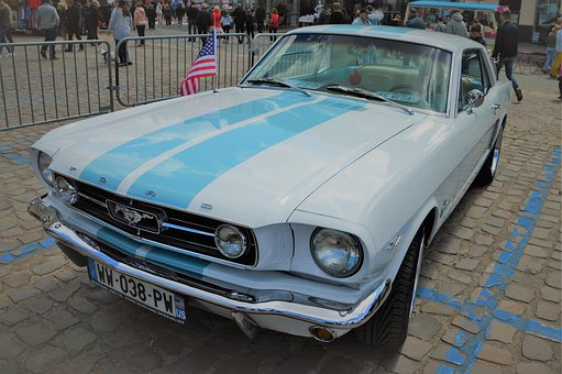 Ford, Car, Mustang, Automobile, Vehicle, Classical