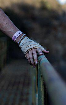 Hand, Nature, Metal, Focus, Depth Of Field, Summer