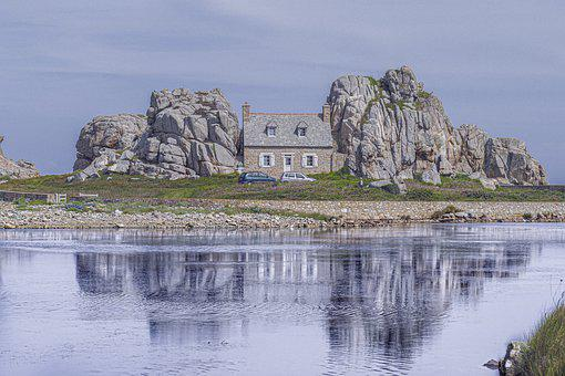 House, Stones, Landscape, Historically, Architecture