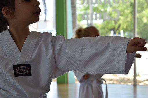 Martial Arts, Discipline, Defense, Karate, Strong
