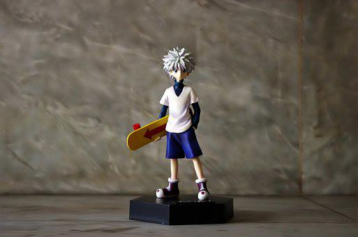 Killua Hunter X, Hunter, Killua, Toy, Figurine, Bootleg