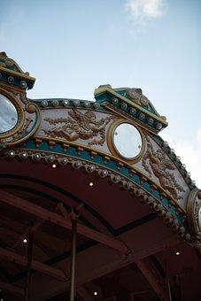 Carousel, Merry-go-round, Amusement Park, Ride