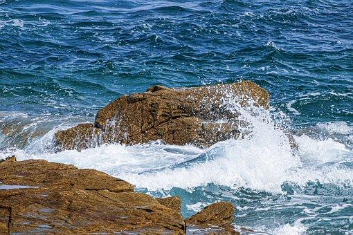 Sea, Stones, Water, Rocks, Beach, Coast, Ocean, Nature