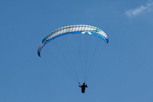 Paraglider, Paragliding, Flying, Sport, Sporty, Depend