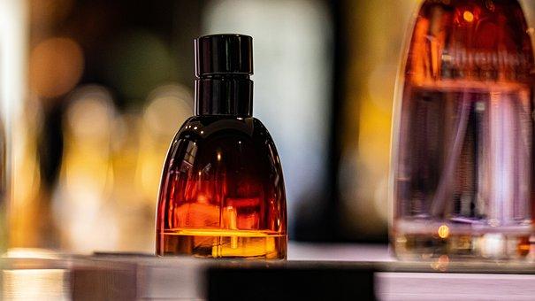 Perfume, Bottle, Light