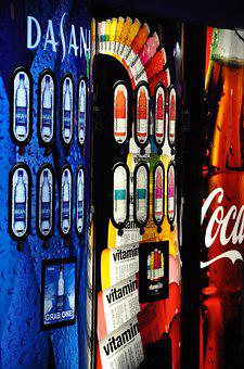 Soda, Drinks, Lights, Summer, Refreshment, Coke, Drink