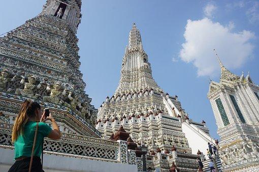 Temple, Travel, Buddhist, Architecture, Religion