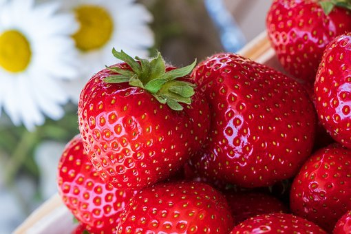 Strawberries, Red, Fruit, Eat, Delicious, Ripe, Fresh