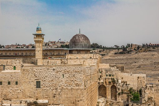 Al-aqsa, Ancient, Arab, Arabic, Architecture, Dome