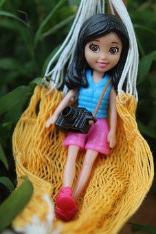 Wrist, Camera, Barbie, Photographer, Toy, Model, Play