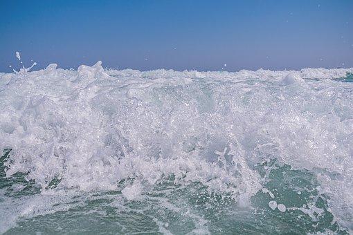 Beach, Beauty, Blue, Coast, Destination, Foam Harmony