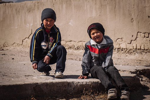 Travel, Children, Kyrgyzstan, People, Tourist, Holiday