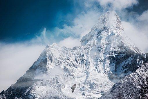 Mountain, Climbing, Adventure, Mountaineering