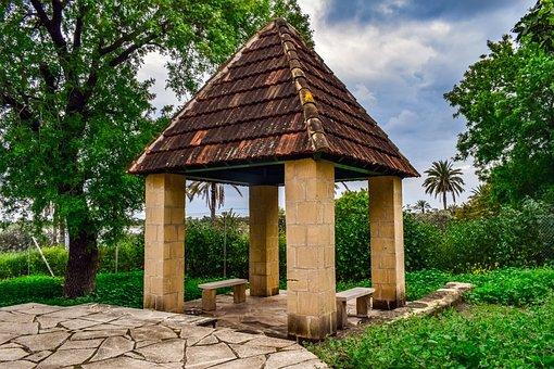 Cyprus, Larnaca, Hala Sultan Tekke, Mosque, Pavilion