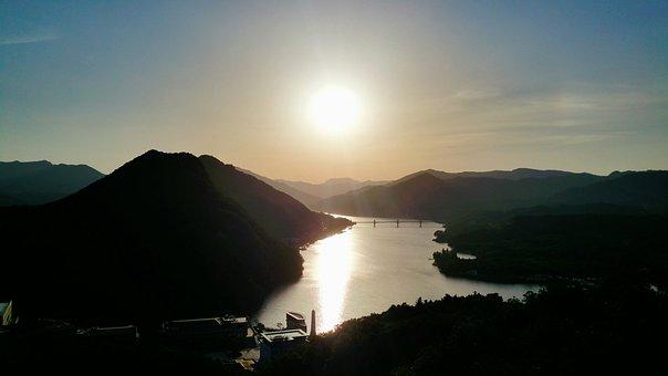 Earth, Asia, Korea, Nature, Landscape, Sky, Mountain