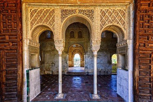 Palace, Alhambra, Moorish, Arabic, Orient, Granada