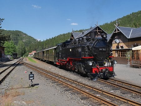 Oybin, Zittau, Narrow Gauge Railway, Zoje, Lausitz