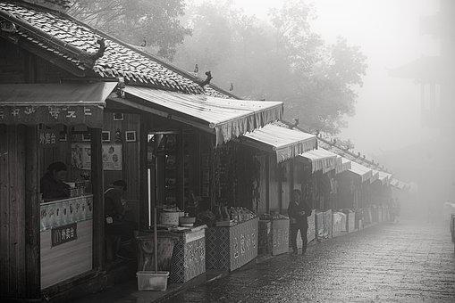 China, Zhangjiajie, Mountain, Landscape, Fog