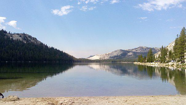Lake, Water, Landscape, Nature, Mountains, Mountain