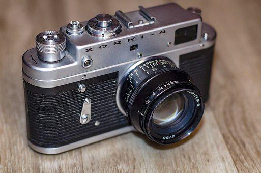 Old, Camera, Zorki, Retro, Movie, Photographer, Analog